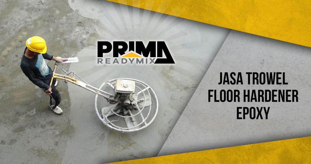 Trowel Floor Hardener